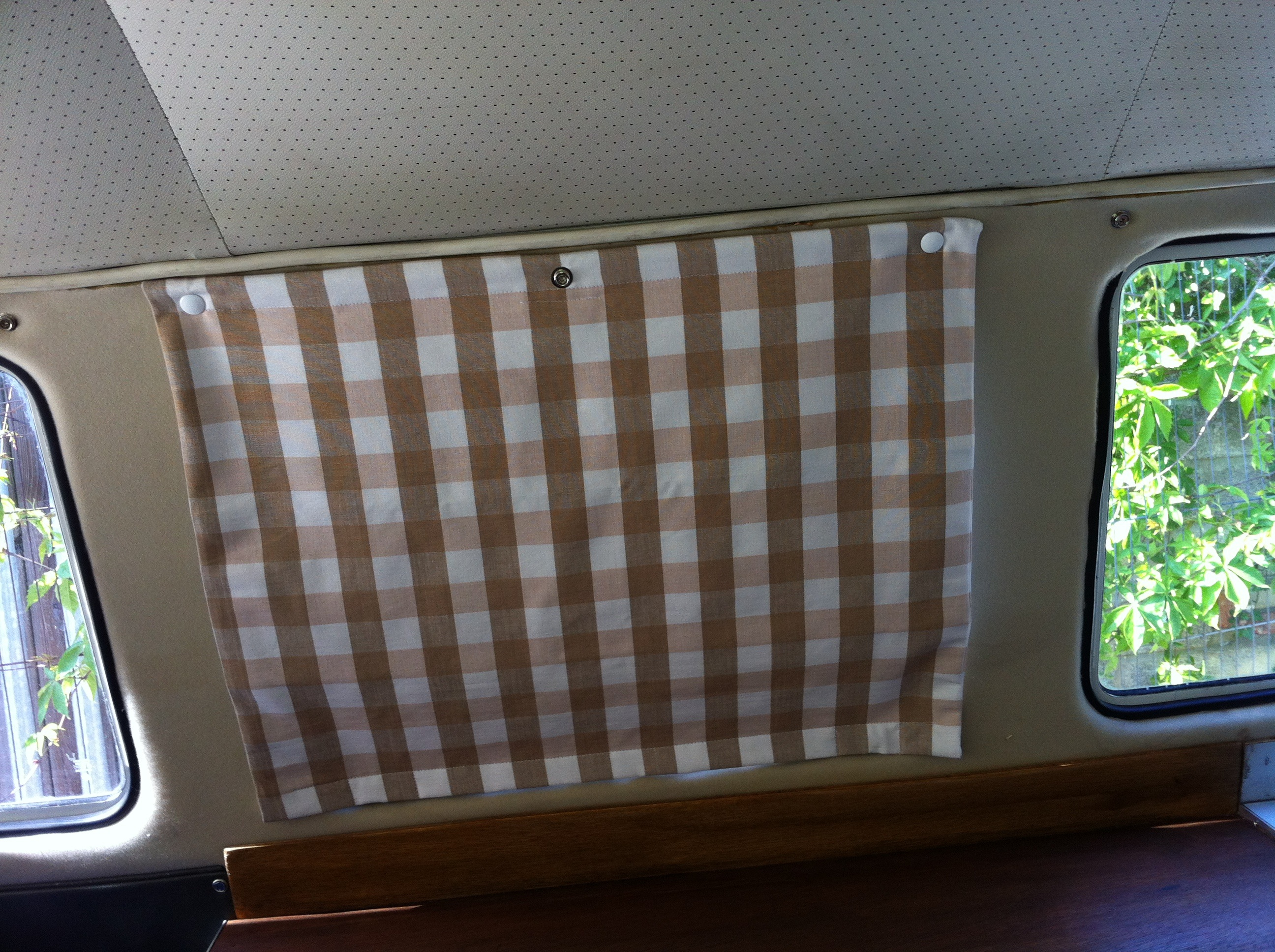 Camper Poppered Blinds Delilah S Vw Camper Furnishings